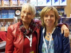 Mylene et NIcole Salon du livre Saguenay